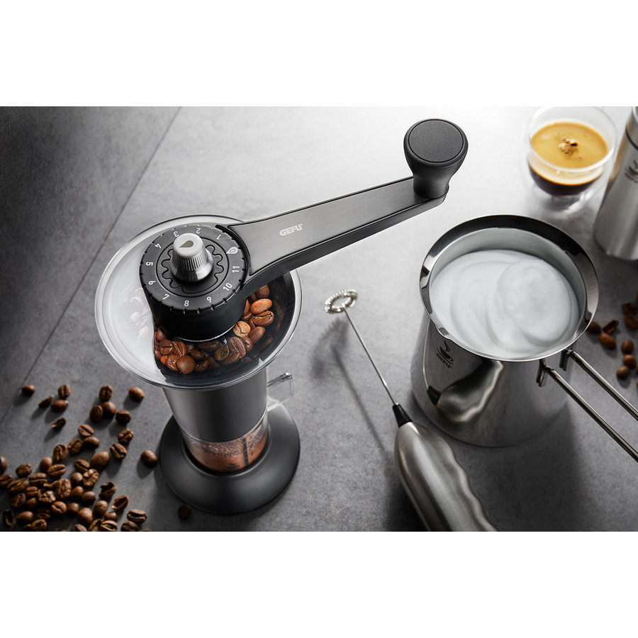 Koffiemolen Lorenzo, zwart-2
