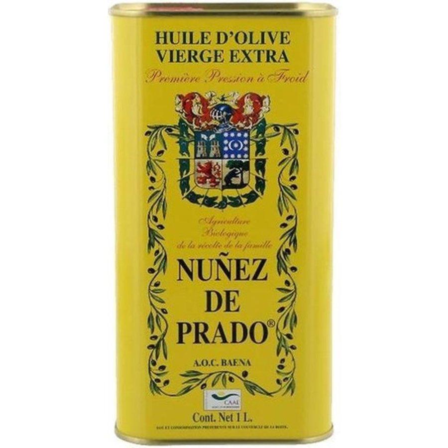 Nunez De Prado Olijfolie Extra Vierge Bio Blik 1 Liter-1