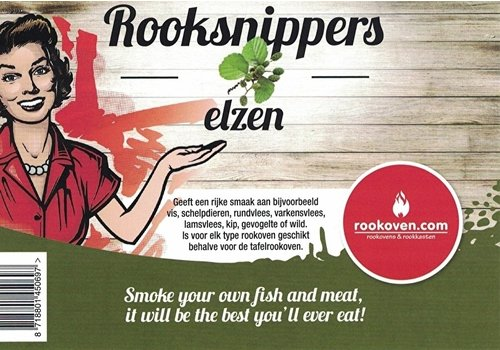 Rooksnippers Elzen 15kg