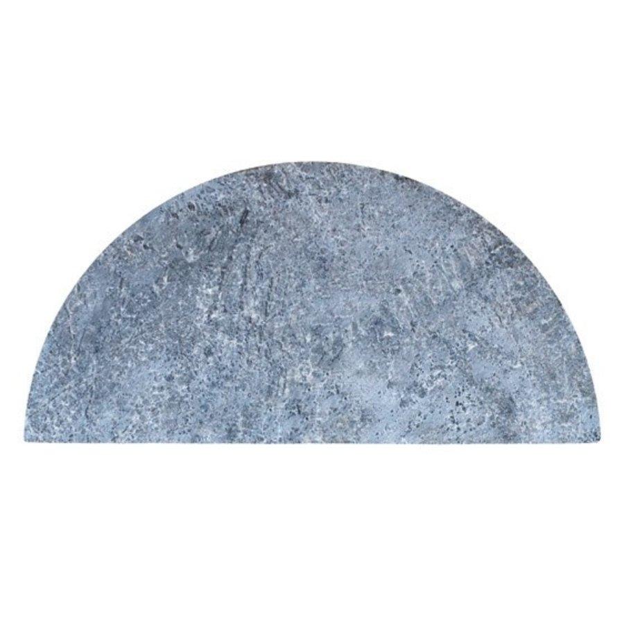 Half Moon Soapstone (Spekstenen) Plate - Big Joe-1