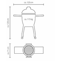 thumb-Monolith Barbecue Basic - Black-2