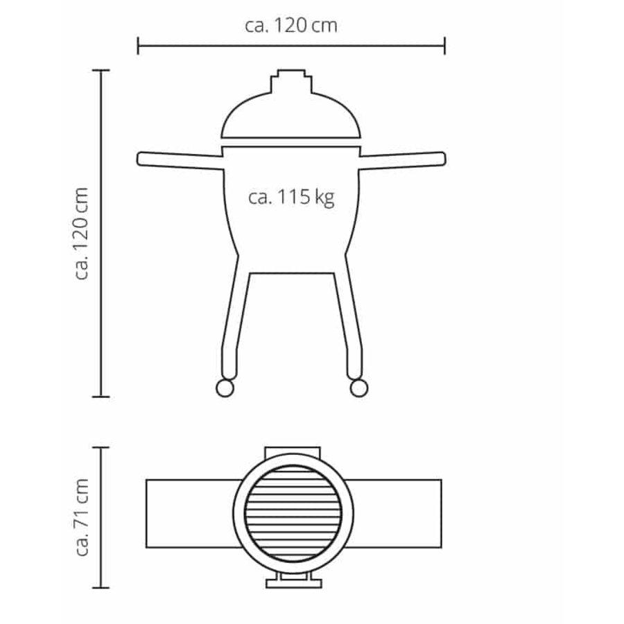 Monolith Barbecue Basic - Black-2