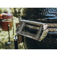 thumb-Monolioth Grill Classic BBQ Guru Pro-Serie 2.0 - Black Standalone-3