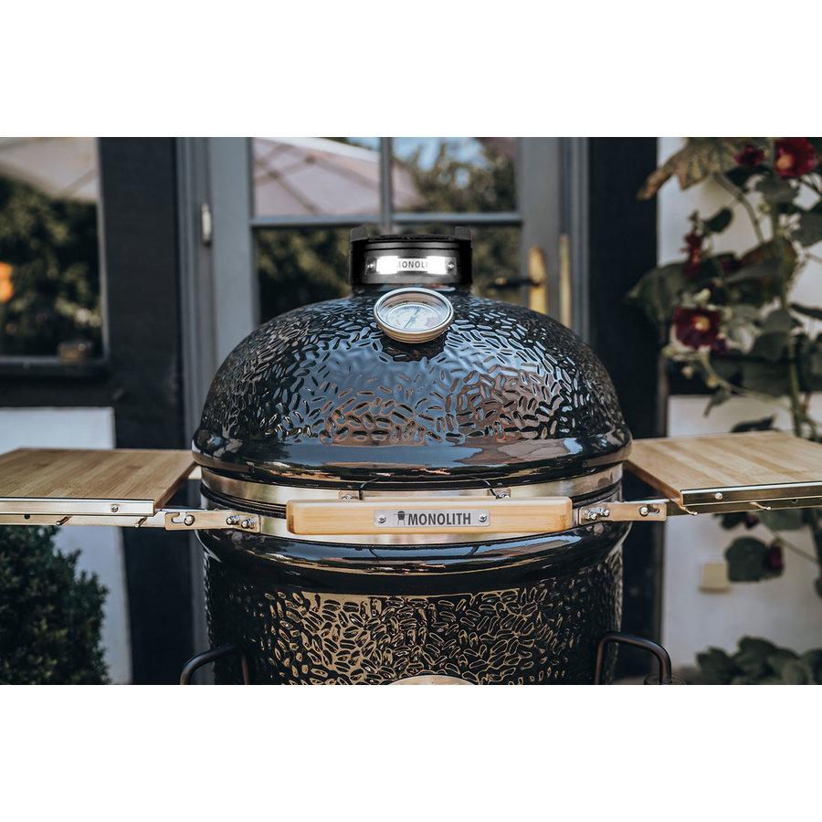 Monolith Grill Classic BBQ Guru Pro-Serie 2.0 - Black Standalone-5