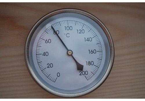 Temperatuurmeter 0 - 200 ℃ Kort