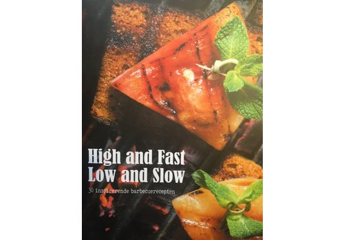 Boek 'High and Fast / Low and Slow' - Grate Goods