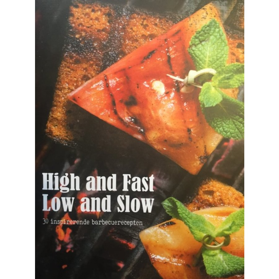 Boek 'High and Fast / Low and Slow' - Grate Goods-1