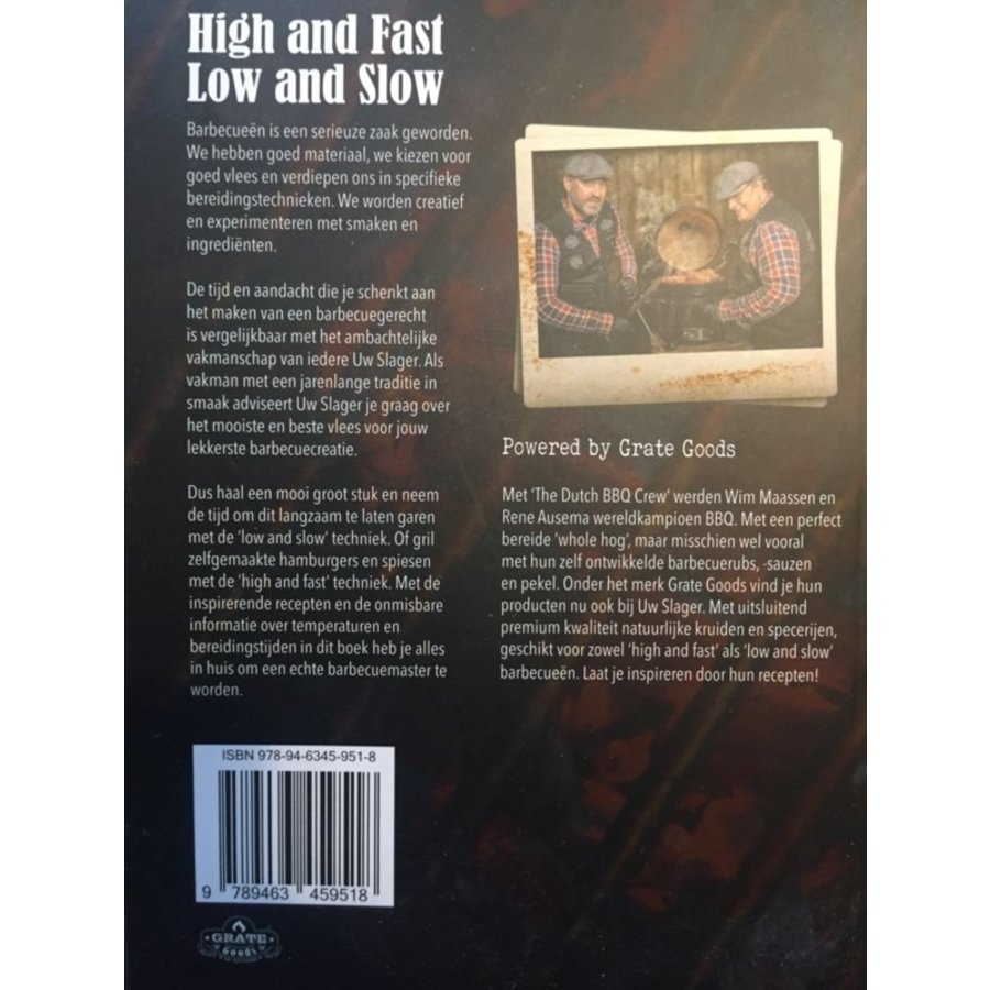 Boek 'High and Fast / Low and Slow' - Grate Goods-2