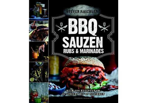Boek 'BBQ Sauzen, Rubs & Marinades' - Steven Raichlen