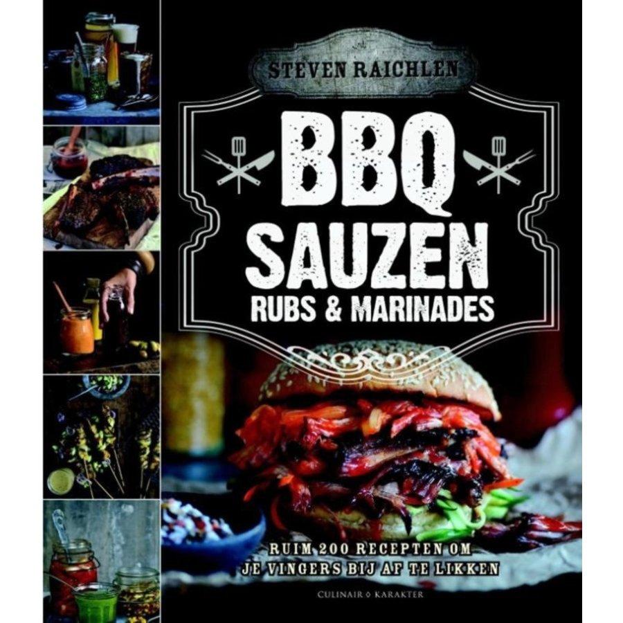 Boek 'BBQ Sauzen, Rubs & Marinades' - Steven Raichlen-1
