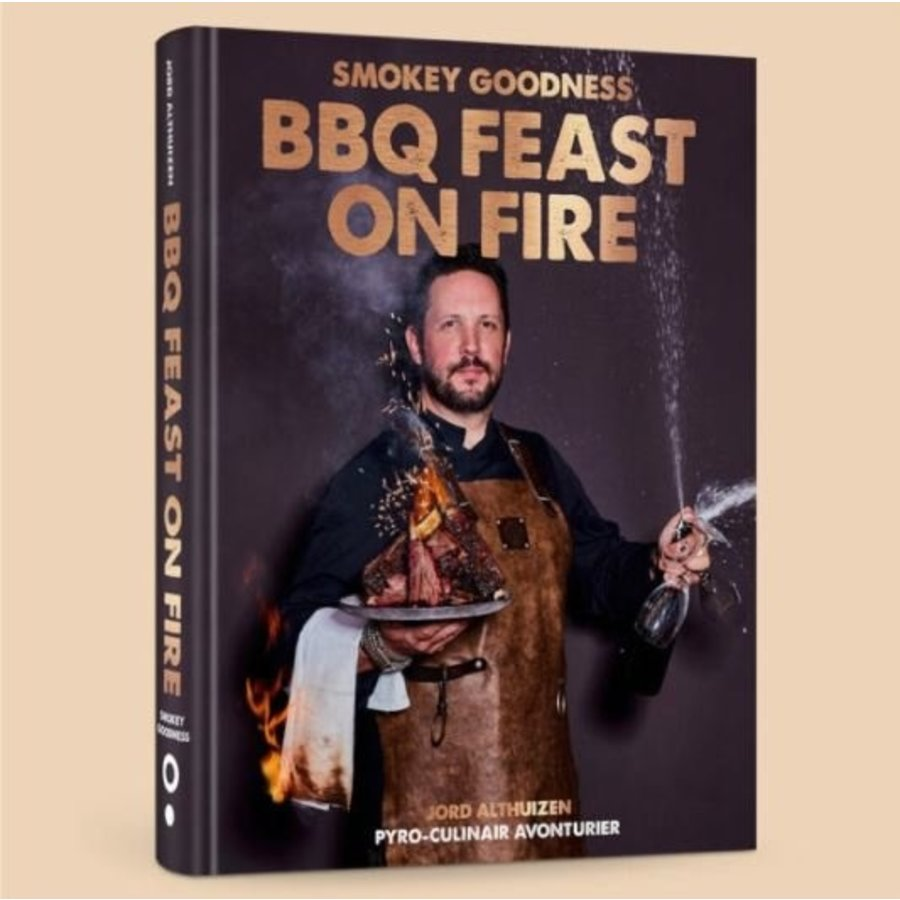 Boek 'Feast on Fire' - Smokey Goodness-1