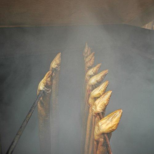 Verhaaltje over paling roken