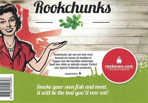 Rookchunks Peer 1,5 KG