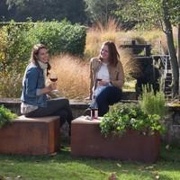thumb-Ofyr Garden Bench Corten-2