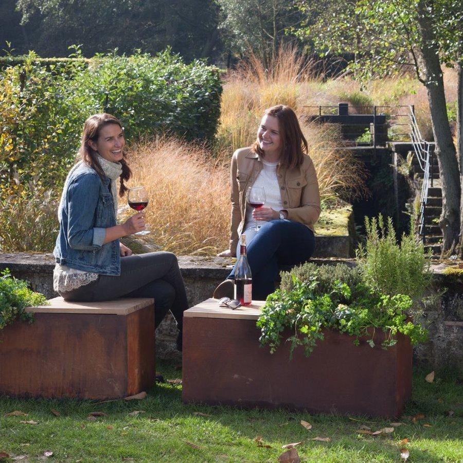 Ofyr Garden Bench Corten-2