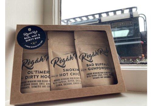 Regah Rub - Bad, Hot & Dirty Box
