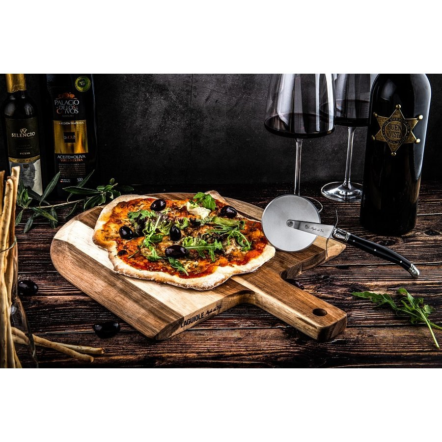 Laguiole Pizzaplank Acacia (Incl. Pizzames)-3