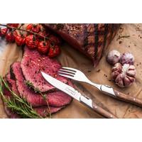 thumb-Laguiole Luxury Line Steakmessen - Olijfhout-2