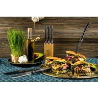 thumb-Laguiole Premium Line Steakmessen Black Stonewash-2