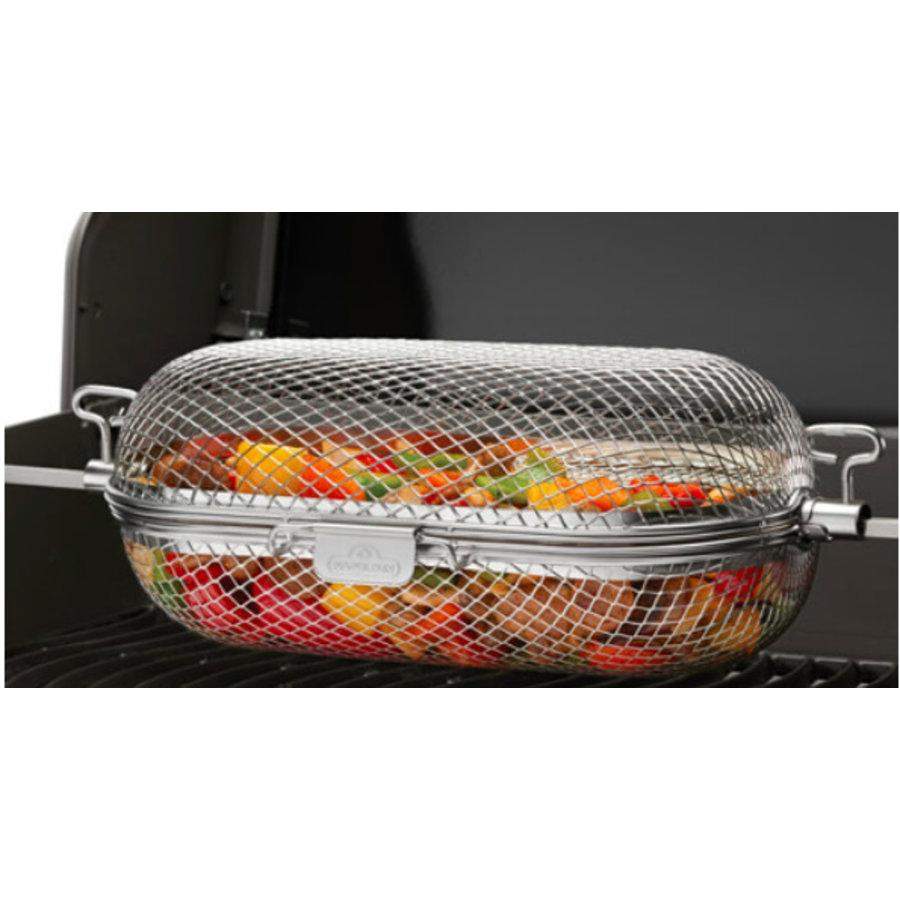 Napoleon Rotisserie Grill Basket-3