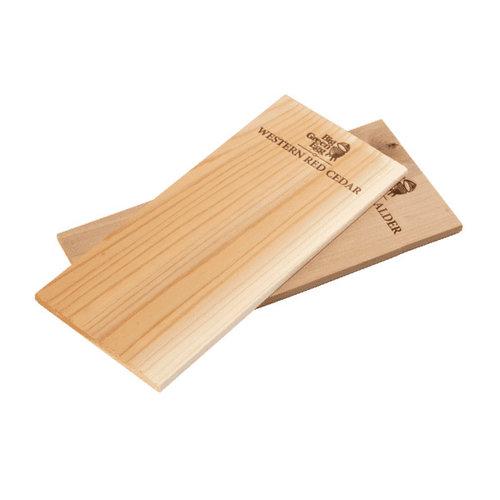 Rook- en BBQ planken