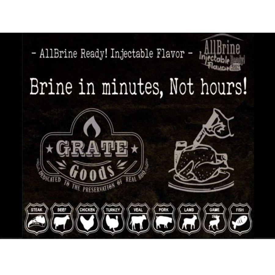 Grate Goods AllBrine Ready Mushroom & Garlic-2