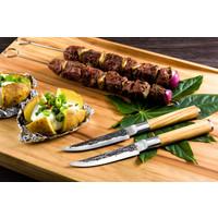 thumb-Olive Forged Steak Messen Set 4 stuks-2