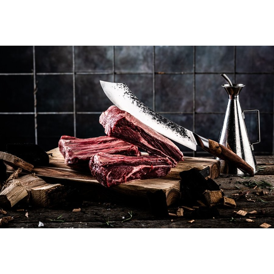 Katai Forged Slagersmes / Butcherknife-2