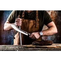 thumb-Katai Forged Slagersmes / Butcherknife-3