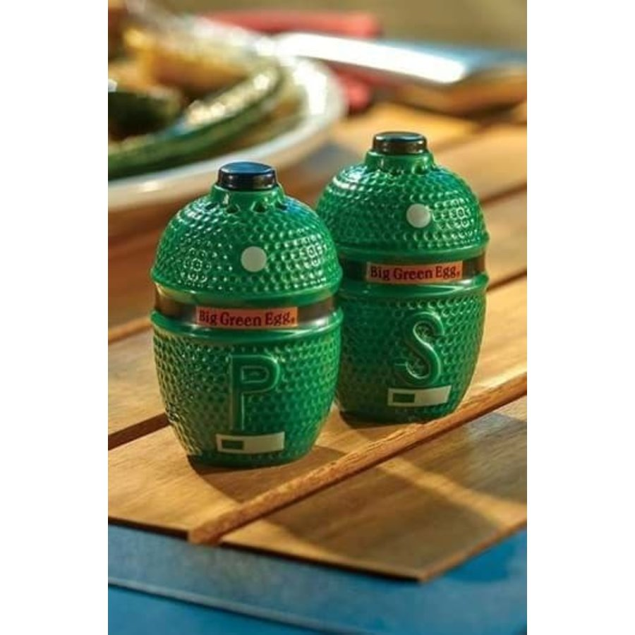 Big Green Egg Salt & Pepper Shakers-1
