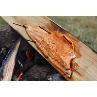 thumb-Koken op Hout Around the Fire Cedarwood Plank-3