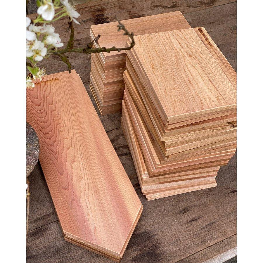 Koken op Hout Around the Fire Cedarwood Plank-4