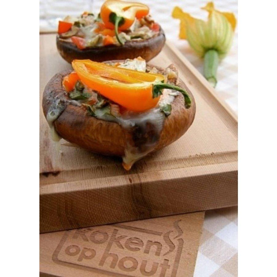 Koken op Hout Cedarwood Ovenplank L-3