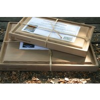 thumb-Koken op Hout Cedarwood Ovenplank XL-1