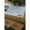 Koken op Hout Koken in Hout Cedarwood Vellen (per 5)