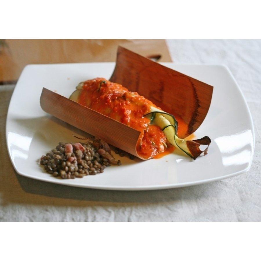 Koken in Hout Cedarwood Vellen (per 5)-3