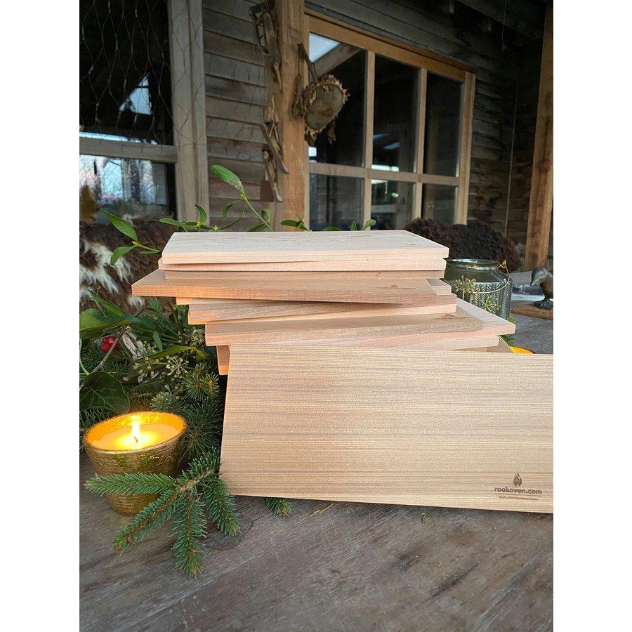 Koken op Hout Cedar Plank XL-4