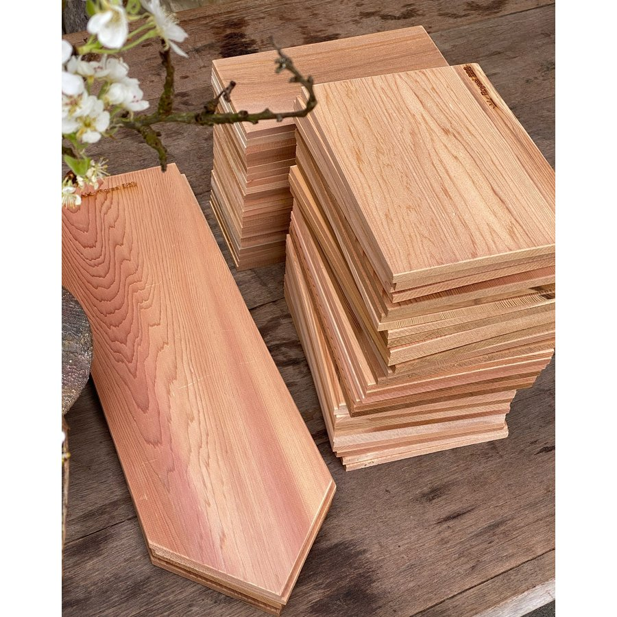 Koken op Hout Cedar Plank XL-5