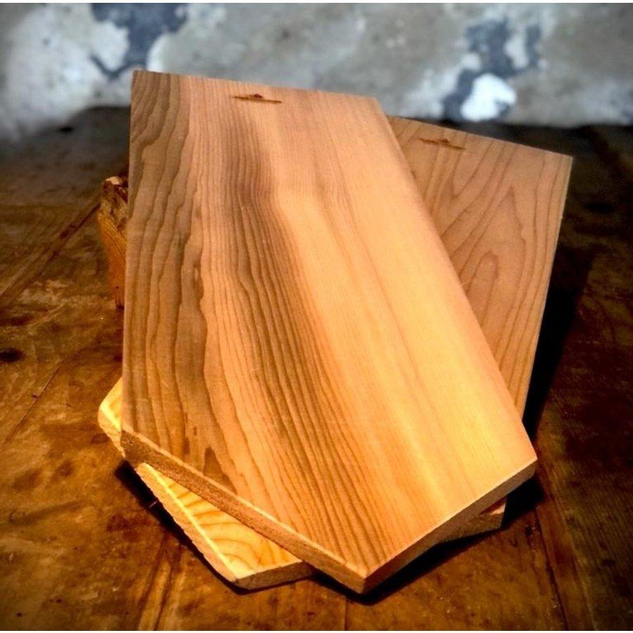 Koken op Hout Around the Fire Cedarwood Plank-1