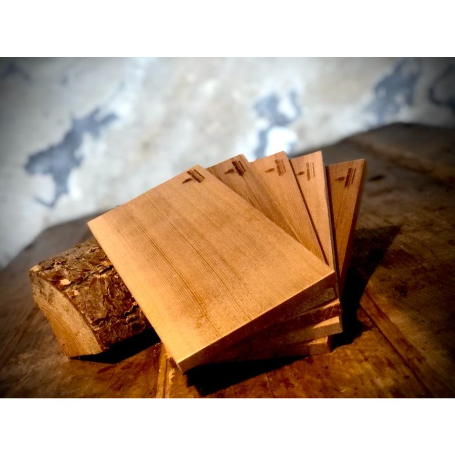 Koken op Hout Cedar Plank Medium-1