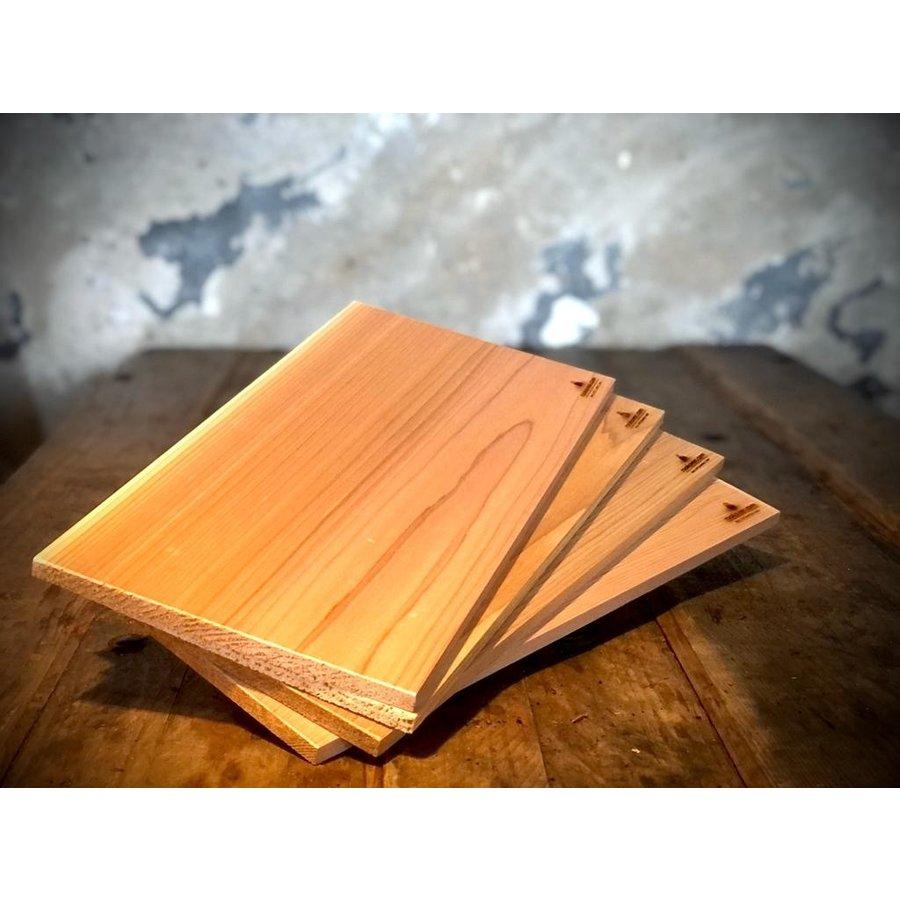 Koken op Hout Cedar Plank XL-1