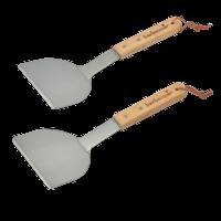 Barbecook Set Van 2 Plancha Spatels - FSC