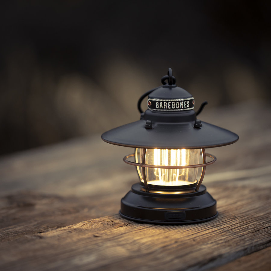 Barebones Mini Edison Latern Black-8