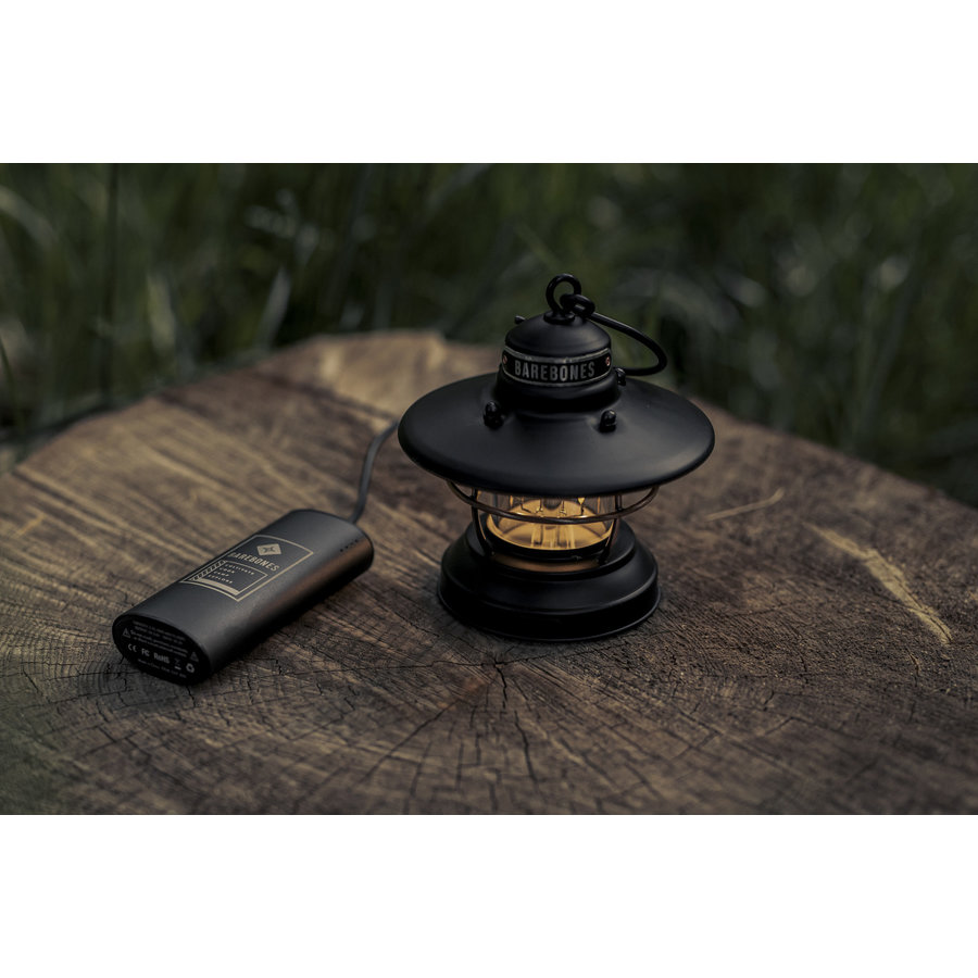 Barebones Mini Edison Lantern Black-9