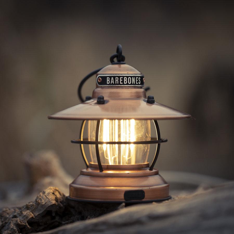 Barebones Mini Edison Lantern Copper-3
