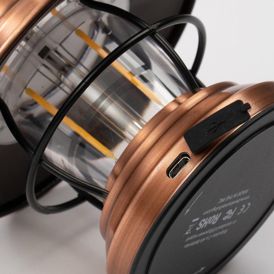Barebones Mini Edison Lantern Copper-8