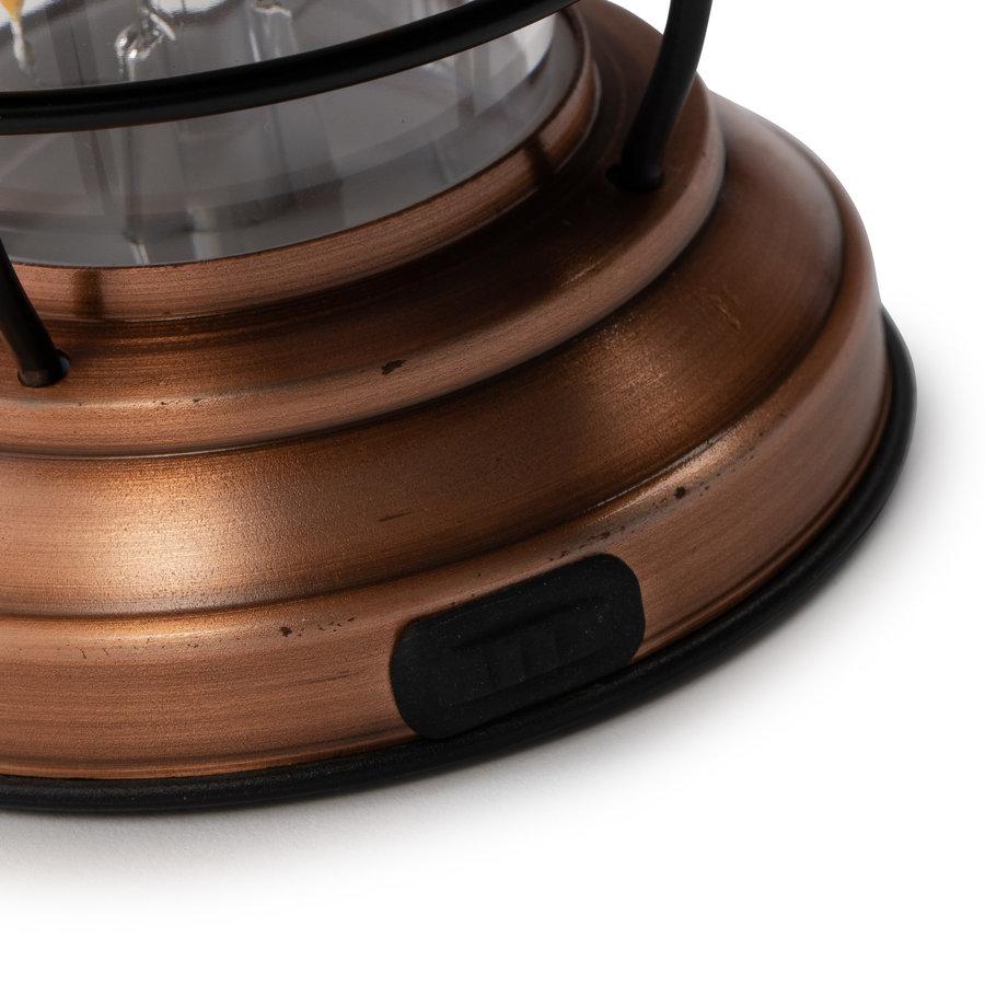 Barebones Mini Edison Lantern Copper-9
