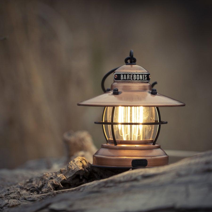 Barebones Mini Edison Lantern Copper-11