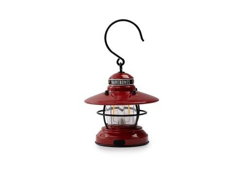 Barebones Mini Edison Latern Red