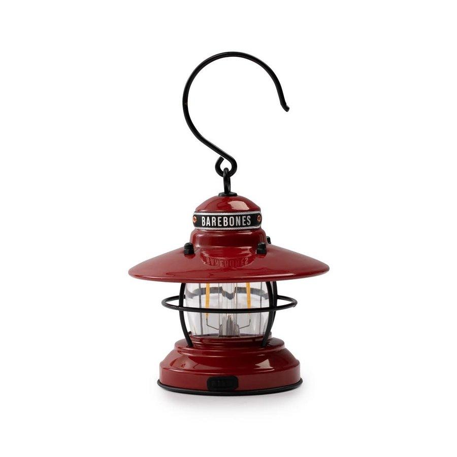 Barebones Mini Edison Lantern Red-1